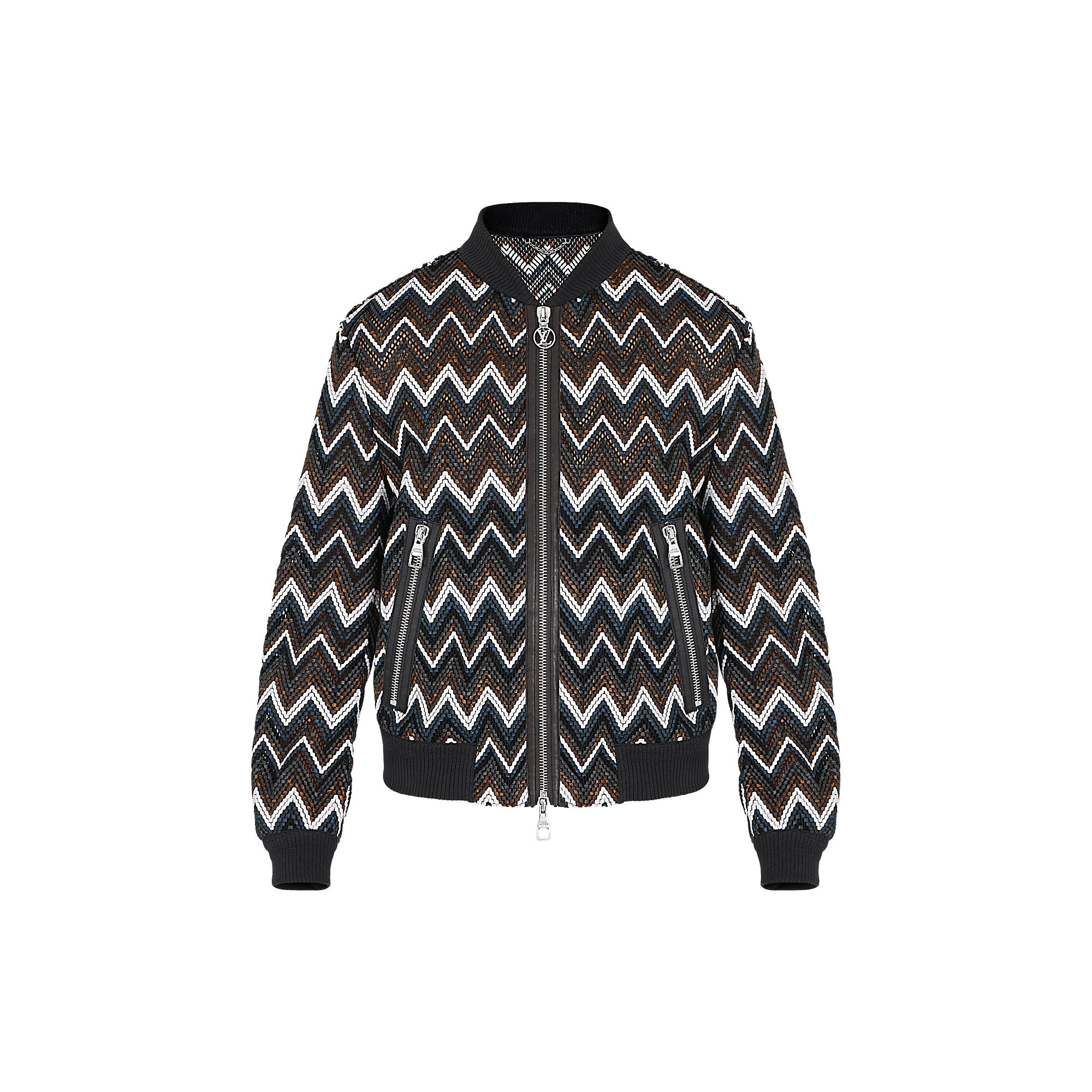 Louis Vuitton Uomo BOMBER BRAIDED MONOGRAM