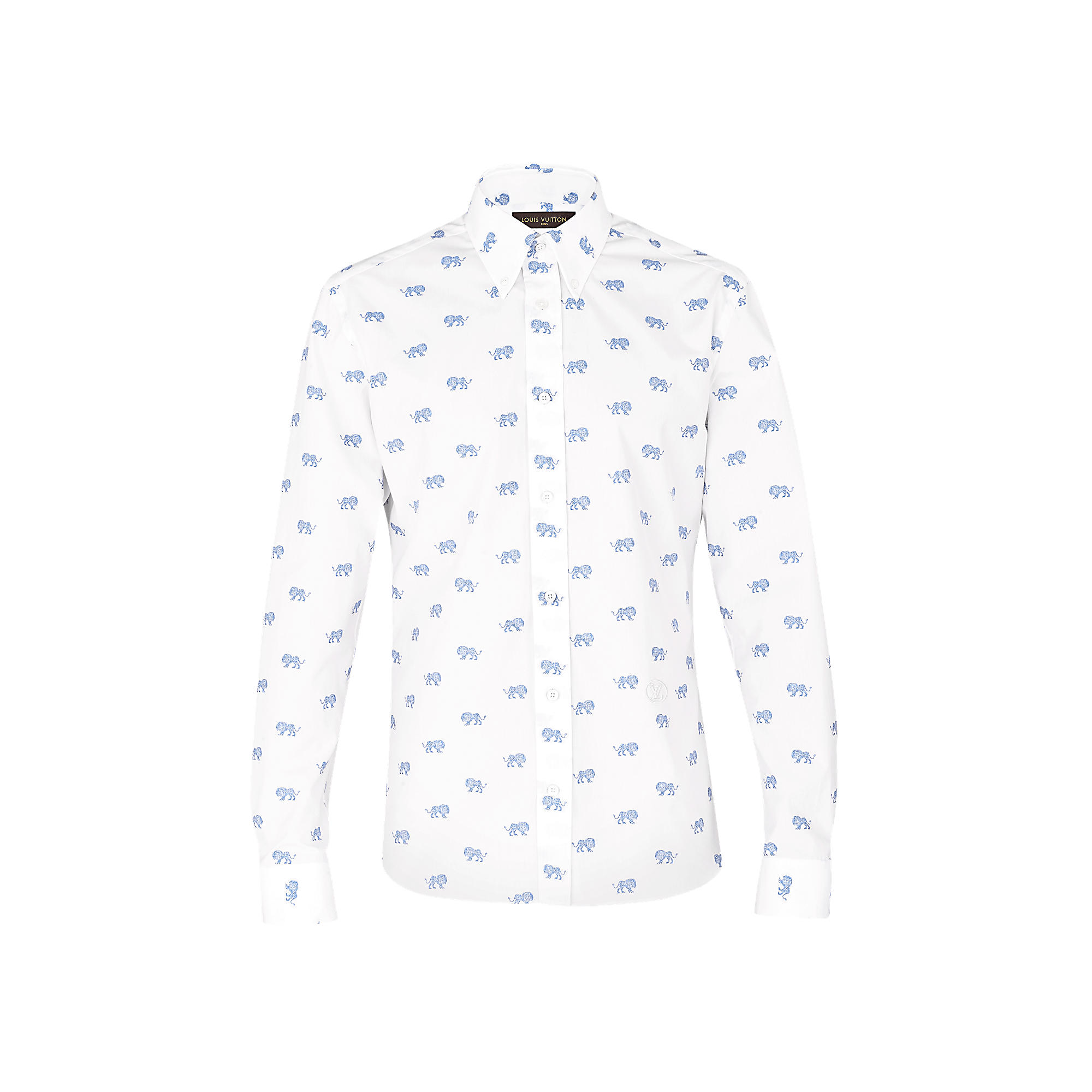 Louis Vuitton Uomo Camicia button-down ricamata