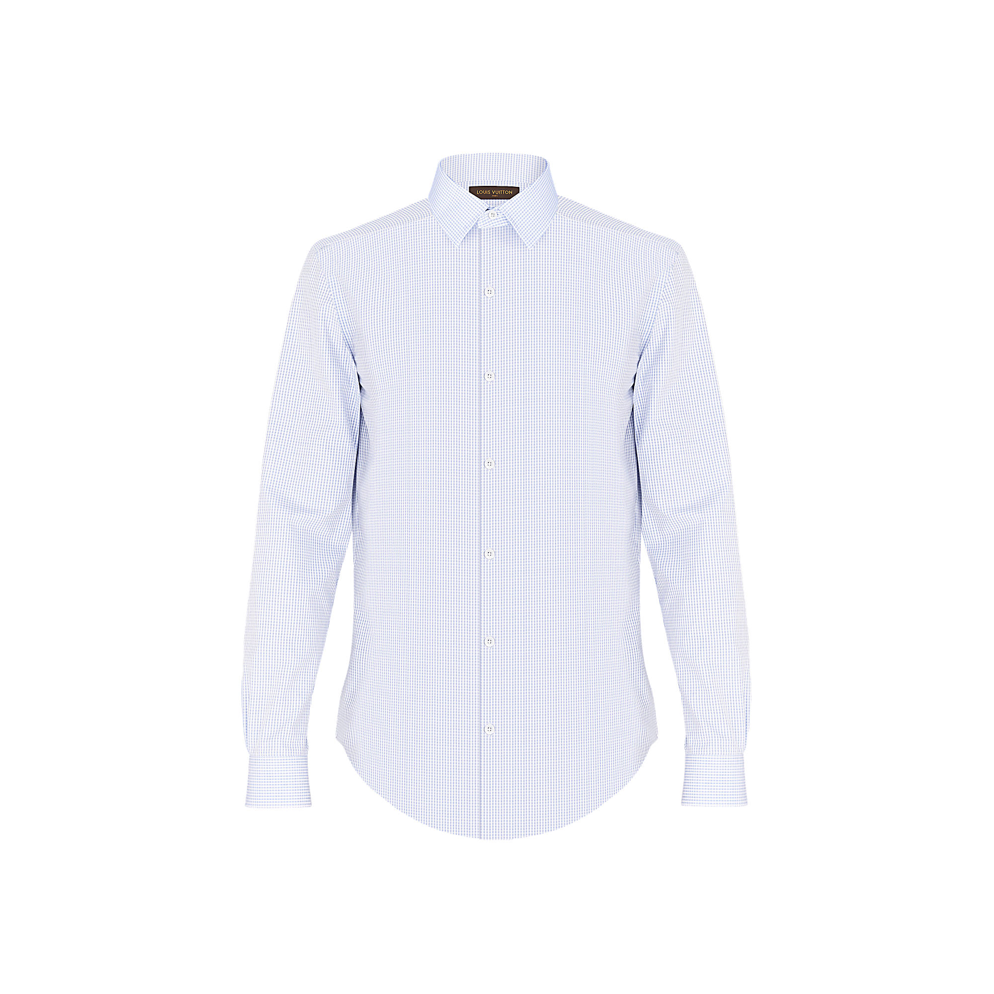 Louis Vuitton Uomo Camicia classica con colletto quadrato