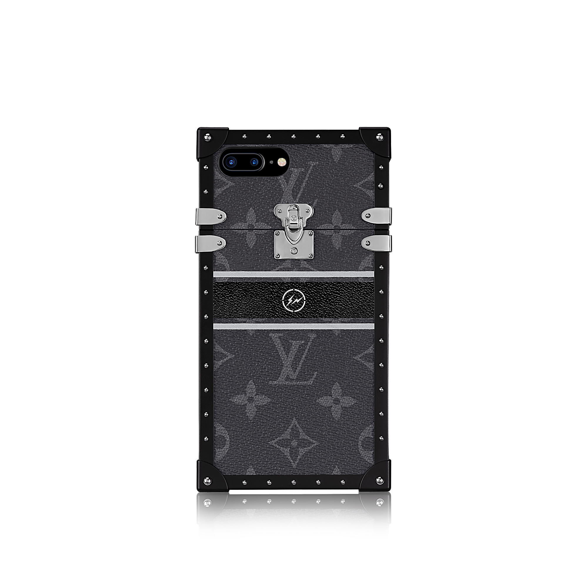 Louis Vuitton Uomo Custodia Eye-Trunk per iPhone 7+